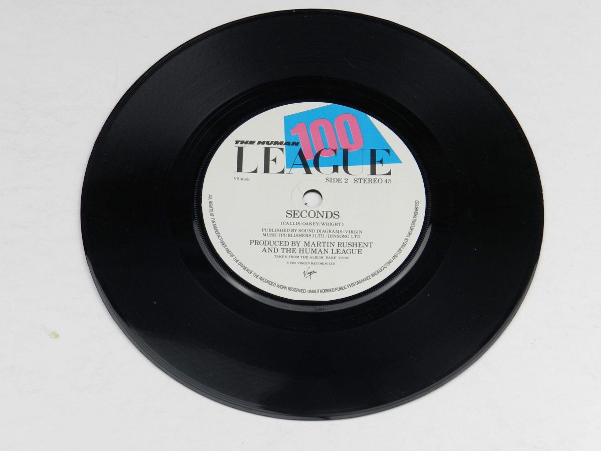 The Human League – Dont You Want Me vinyl record side B scaled
