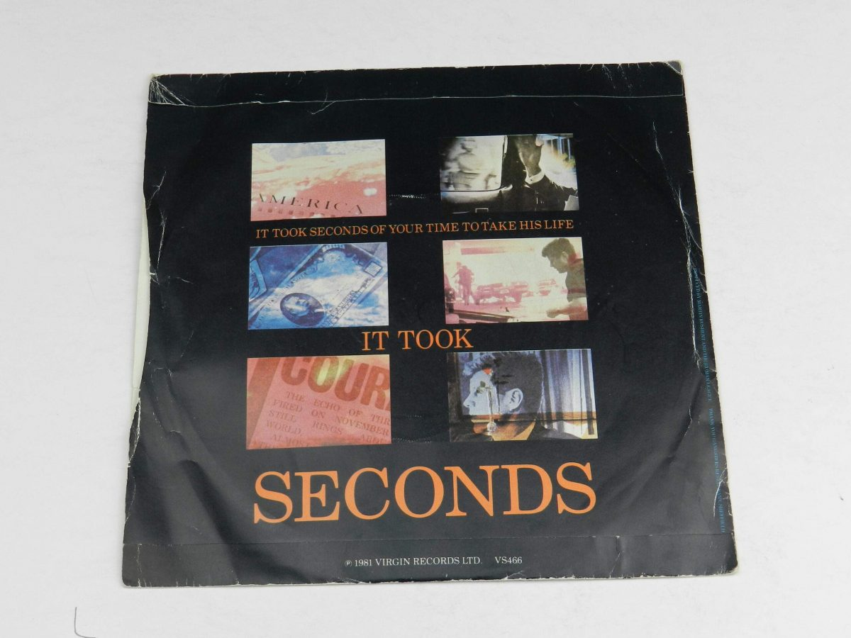 The Human League – Dont You Want Me vinyl record sleeve rear scaled