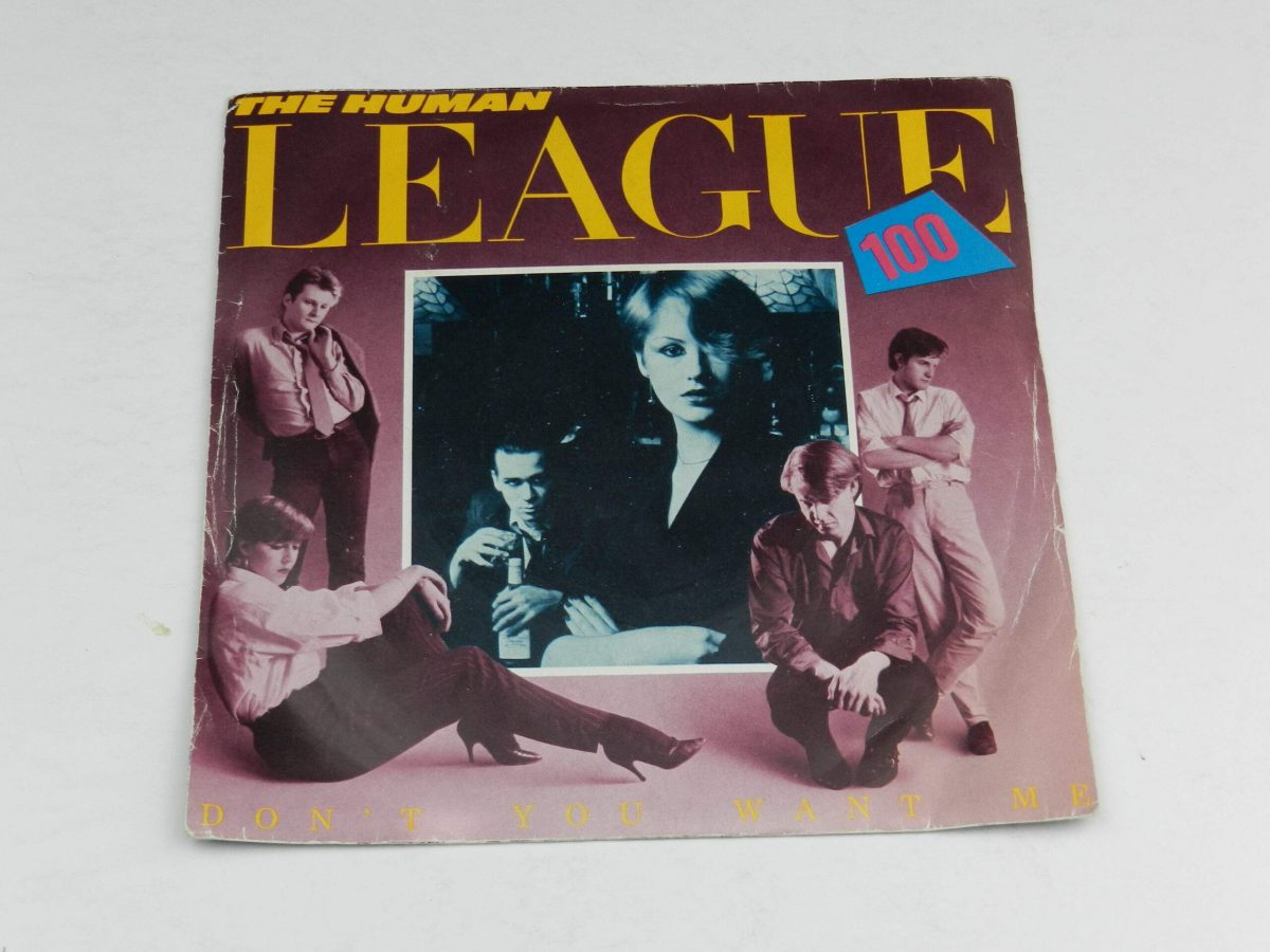 The Human League – Dont You Want Me vinyl record sleeve scaled