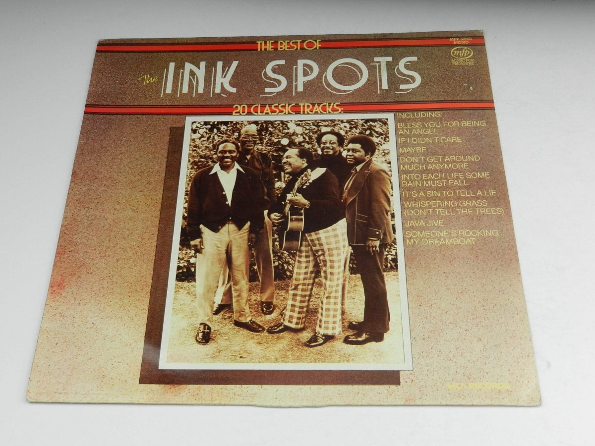 The Ink Spots – The Best Of The Ink Spots 20 Classic Tracks vinyl record sleeve scaled