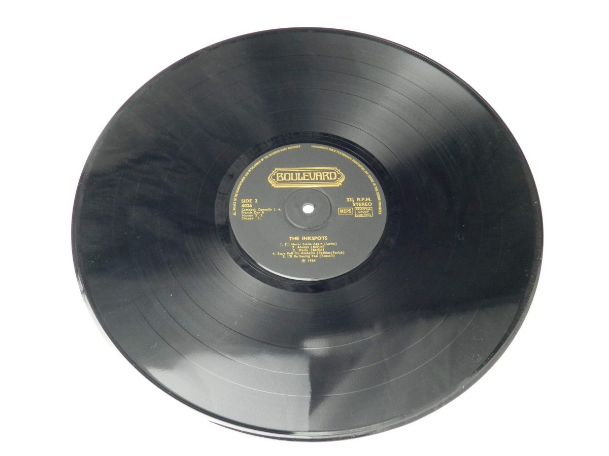 The Ink Spots – The Inkspots Sing And Play vinyl record side B scaled