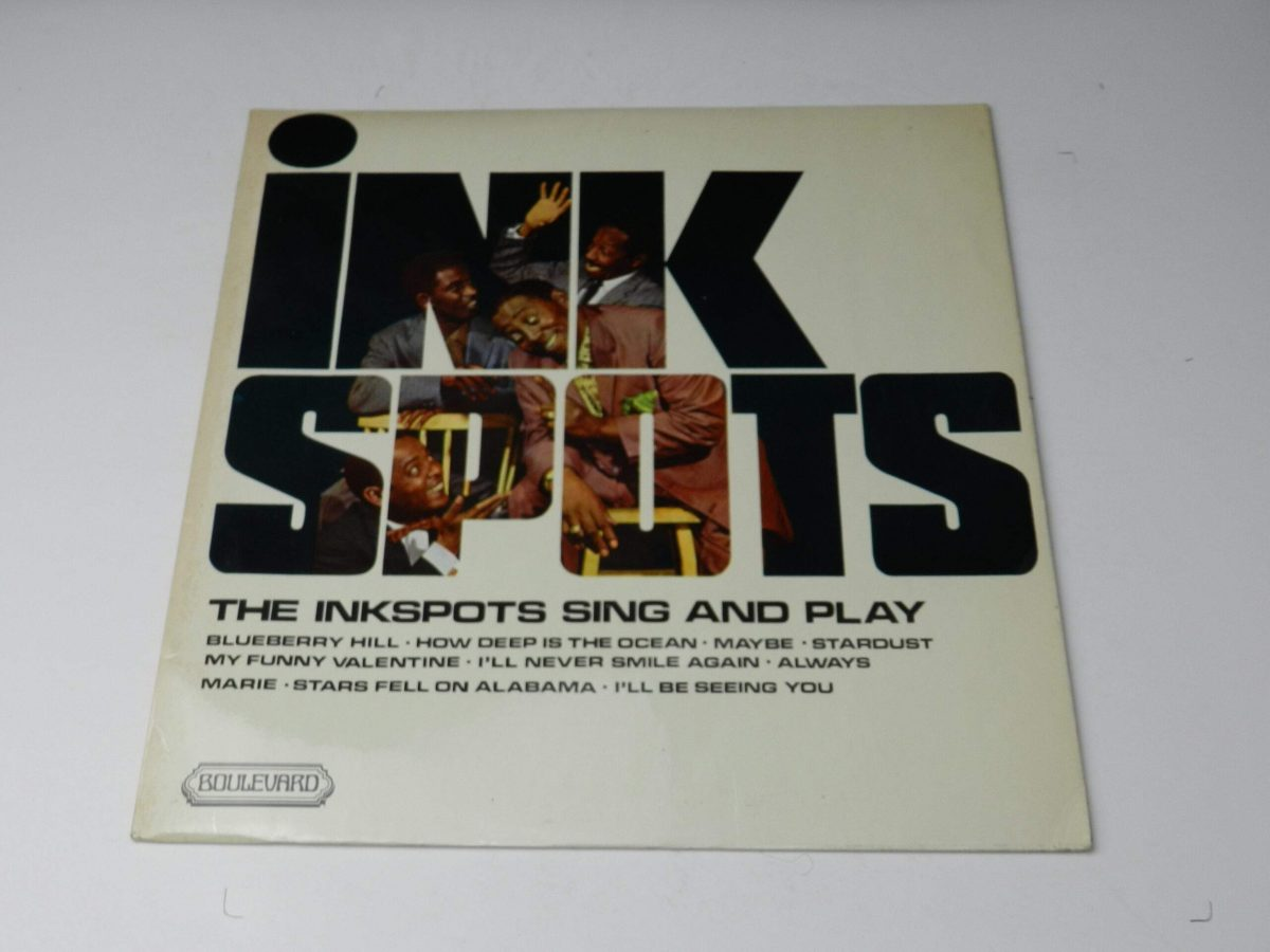 The Ink Spots – The Inkspots Sing And Play vinyl record sleeve scaled