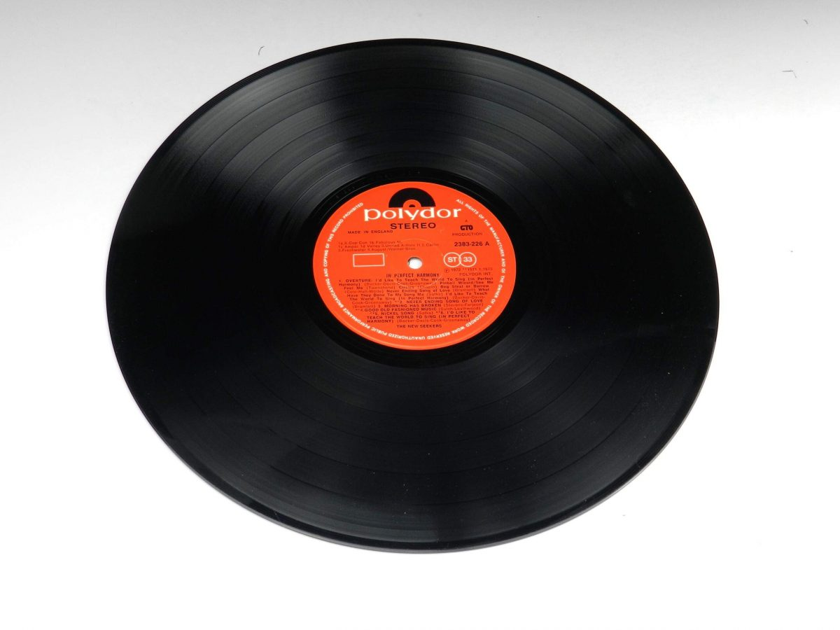 The New Seekers – In Perfect Harmony vinyl record side A scaled
