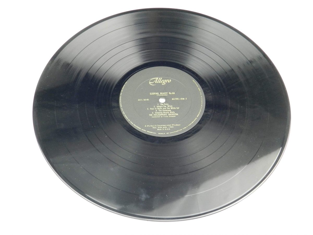 The Philharmonic Orchestra Conducted By Franz Donauer – Sleeping Beauty and The Nutcracker Suite vinyl record side B scaled