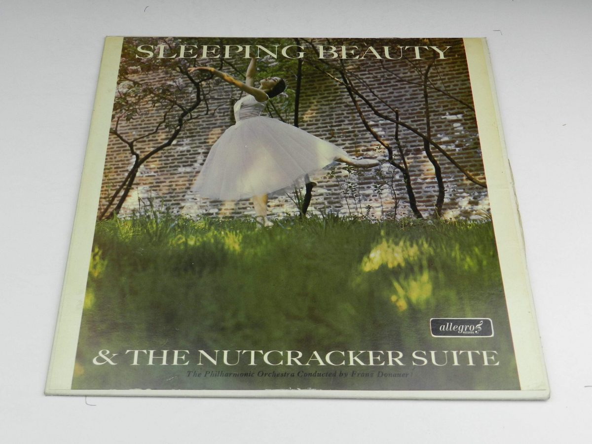 The Philharmonic Orchestra Conducted By Franz Donauer – Sleeping Beauty and The Nutcracker Suite vinyl record sleeve scaled