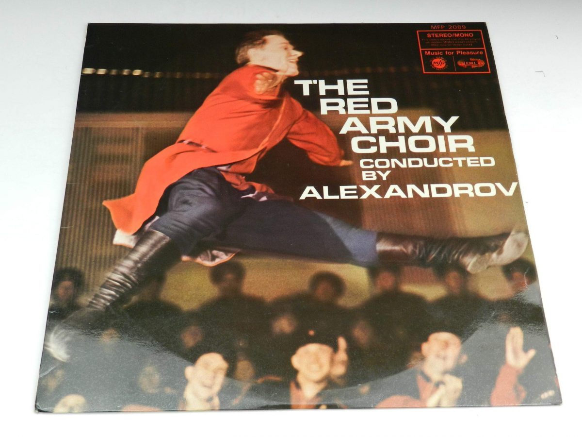 The Red Army Choir Conducted By Alexandrov – The Red Army Choir Conducted By Alexandrov vinyl record sleeve scaled
