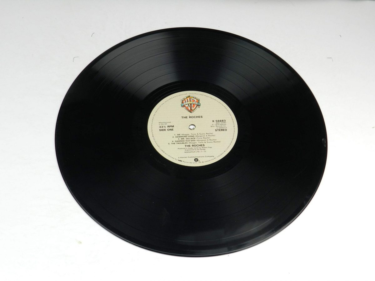 The Roches – The Roches vinyl record side A scaled