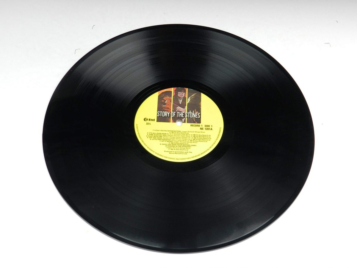The Rolling Stones – Story Of The Stones vinyl record 1 side A scaled