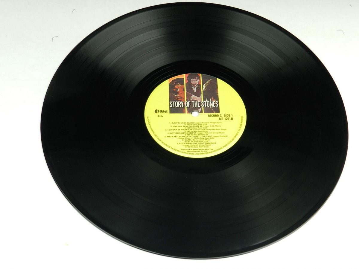 The Rolling Stones – Story Of The Stones vinyl record 2 side A scaled
