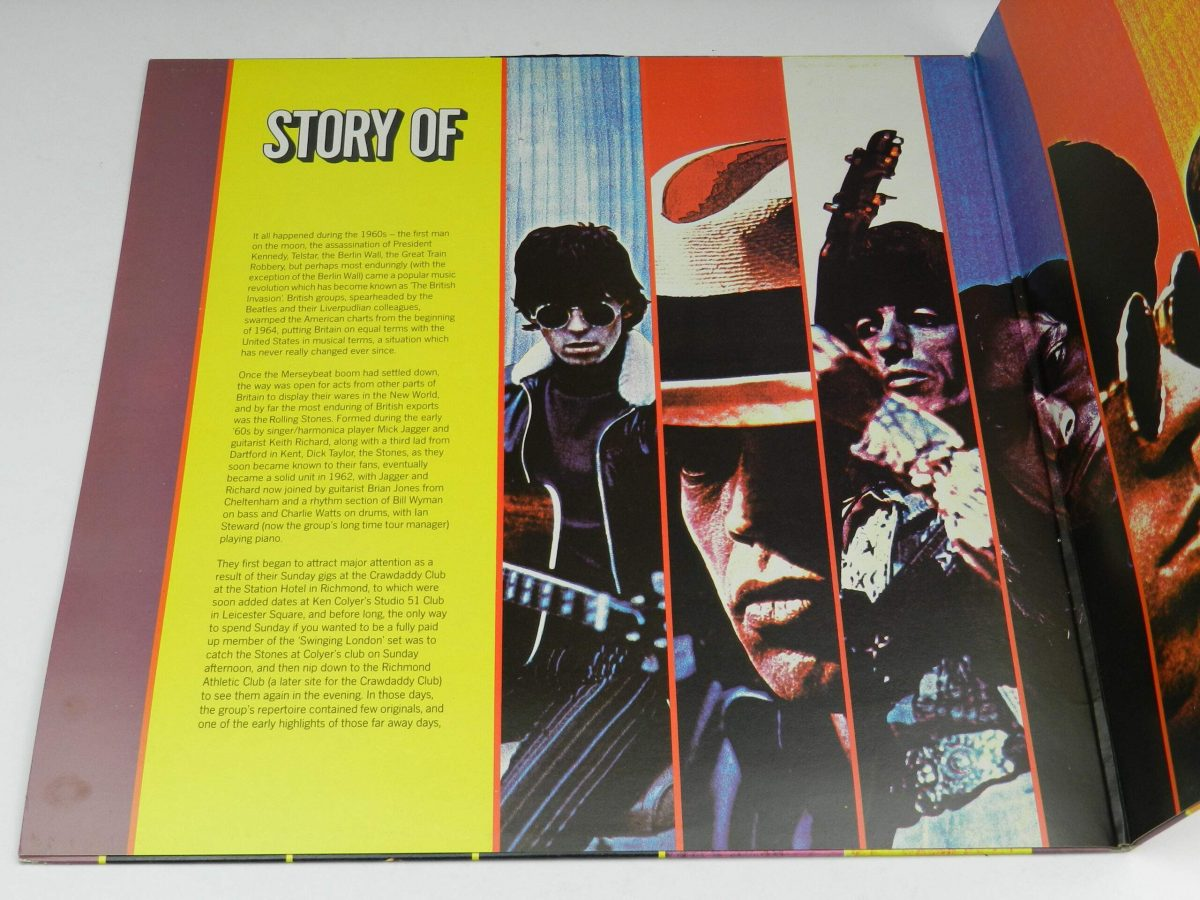 The Rolling Stones – Story Of The Stones vinyl record sleeve gatefold 1 scaled