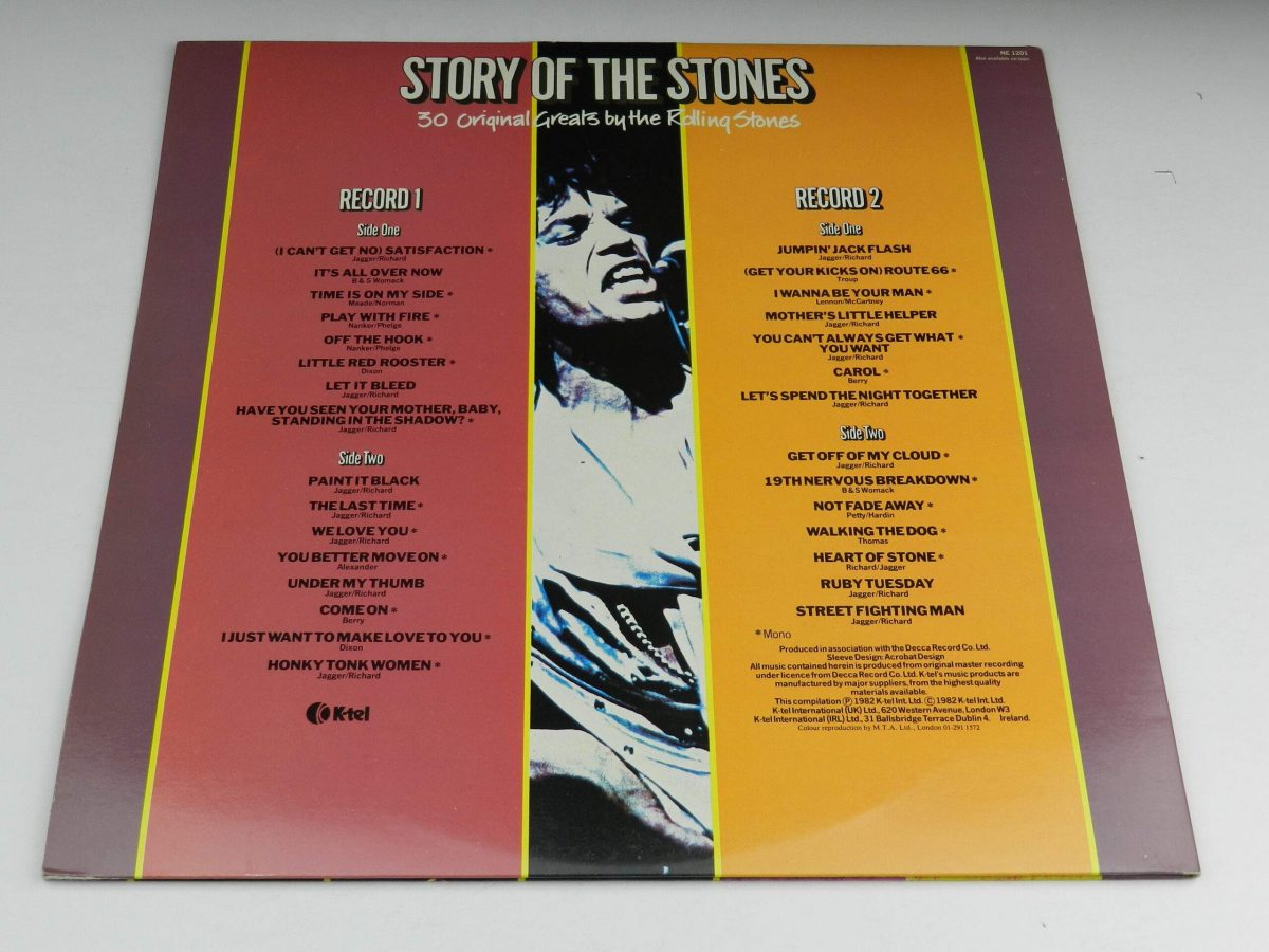 The Rolling Stones – Story Of The Stones vinyl record sleeve rear scaled