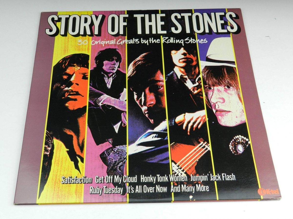 The Rolling Stones – Story Of The Stones vinyl record sleeve scaled