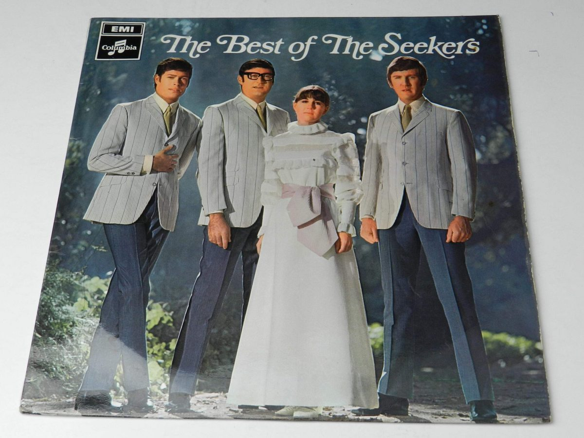 The Seekers – The Best Of The Seekers vinyl record sleeve scaled