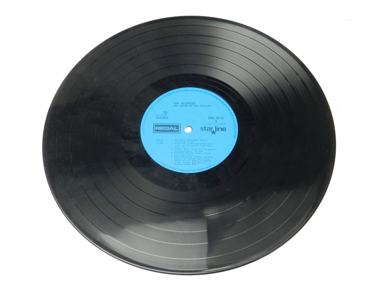 The Seekers – The Sound Of The Seekers vinyl record side B scaled