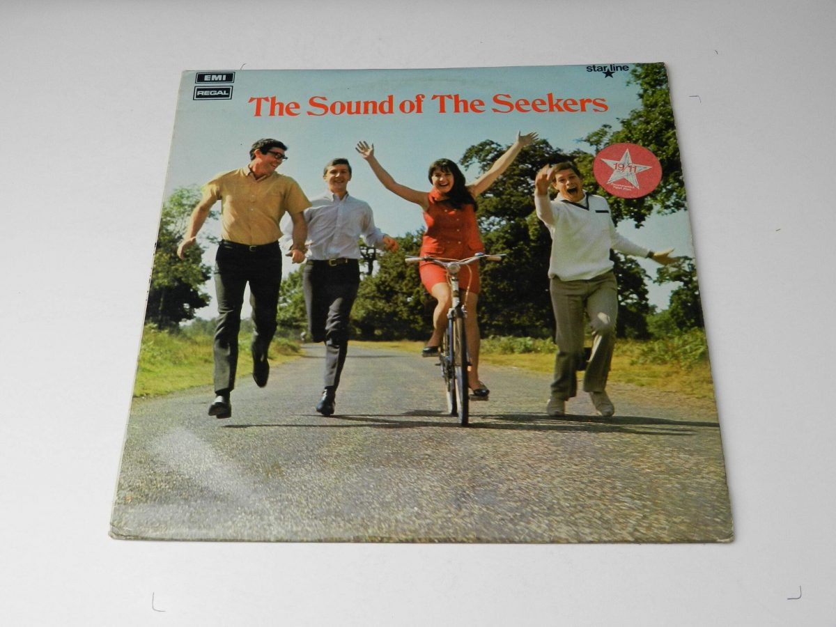 The Seekers – The Sound Of The Seekers vinyl record sleeve scaled