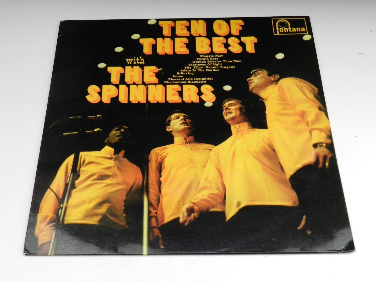 The Spinners – Ten Of The Best With The Spinners vinyl record sleeve scaled
