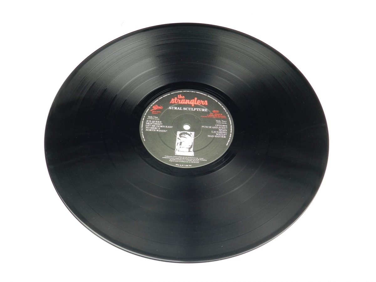 The Stranglers – Aural Sculpture vinyl record side B scaled