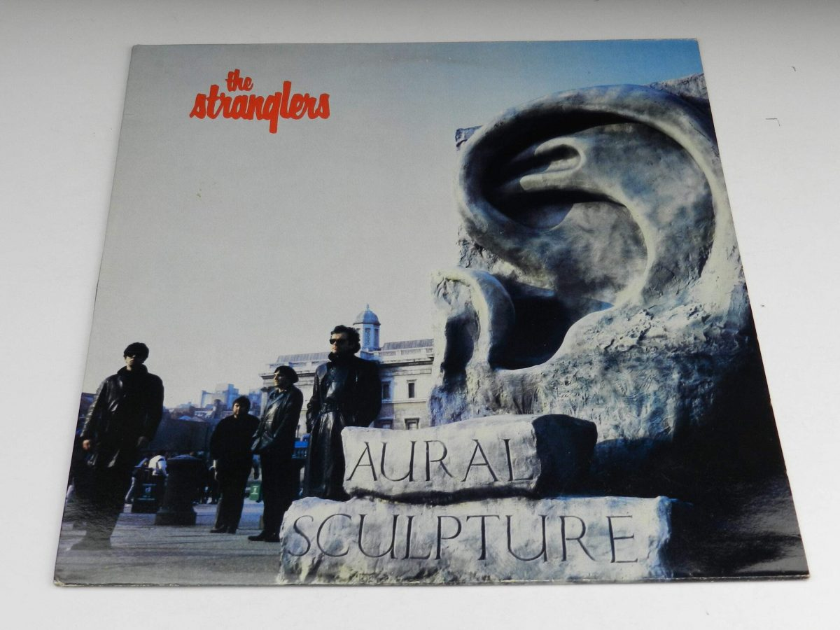 The Stranglers – Aural Sculpture vinyl record sleeve scaled