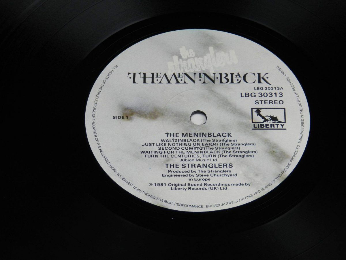 The Stranglers – The Gospel According To The Meninblack vinyl record side A label scaled