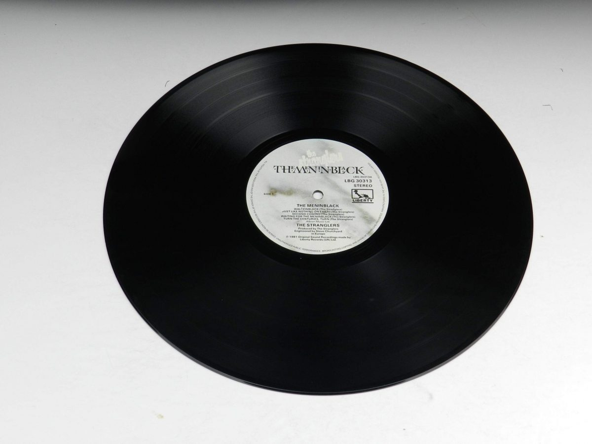 The Stranglers – The Gospel According To The Meninblack vinyl record side A scaled