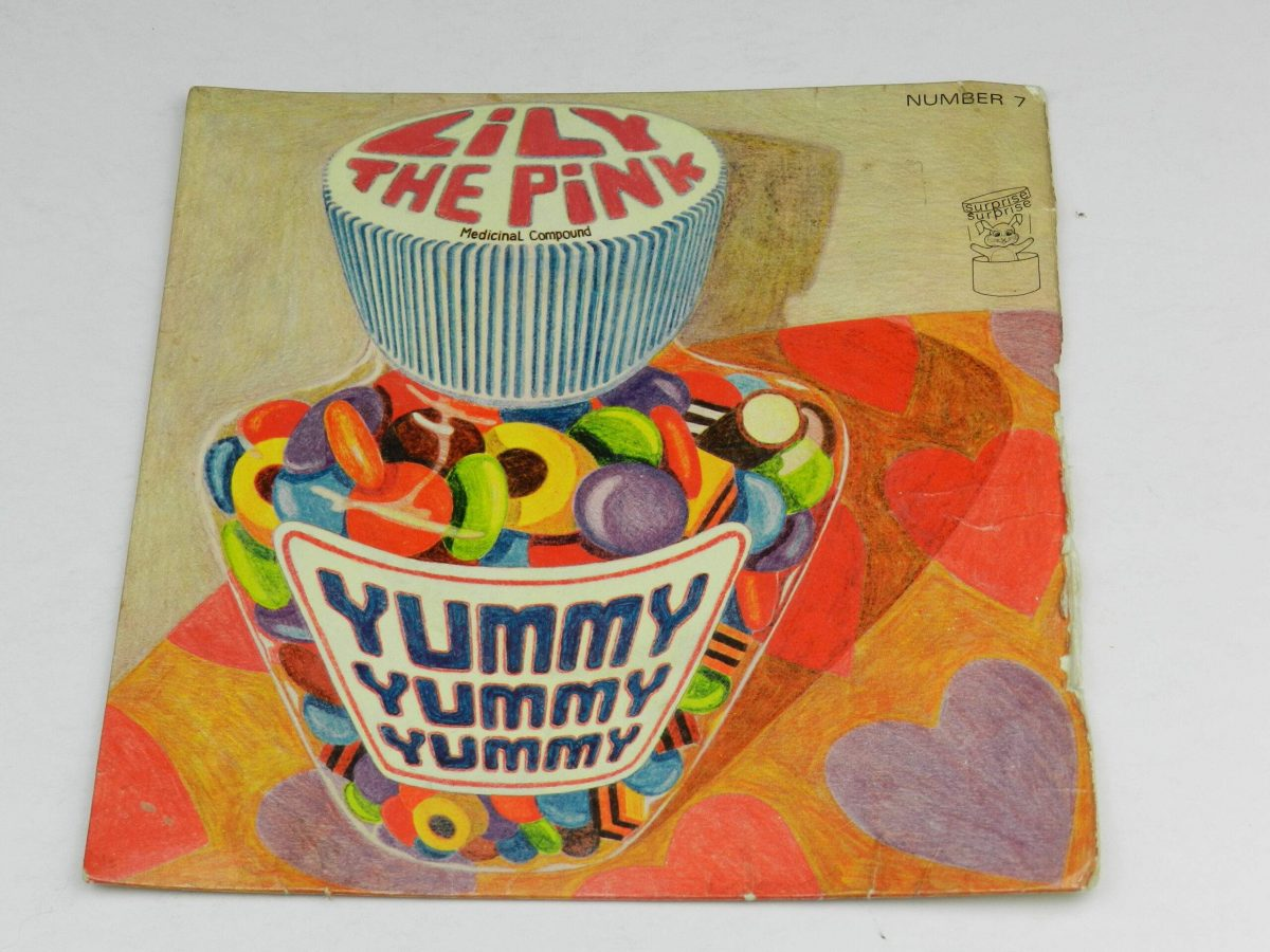Unknown Artist – Lily The Pink Yummy Yummy Yummy vinyl record sleeve scaled
