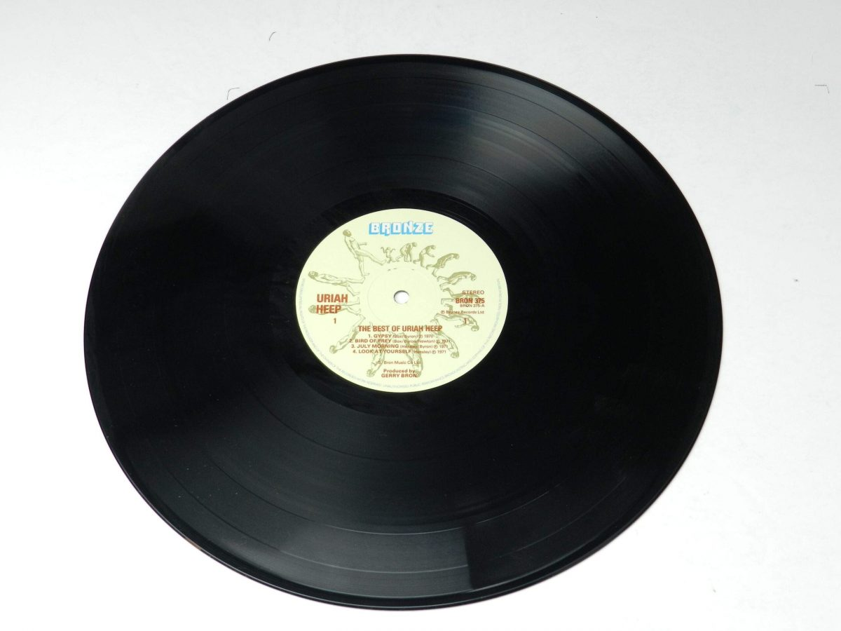 Uriah Heep – The Best Of vinyl record side A scaled