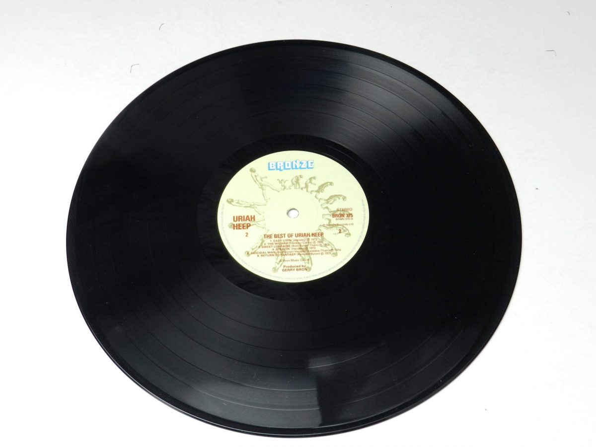 Uriah Heep – The Best Of vinyl record side B scaled