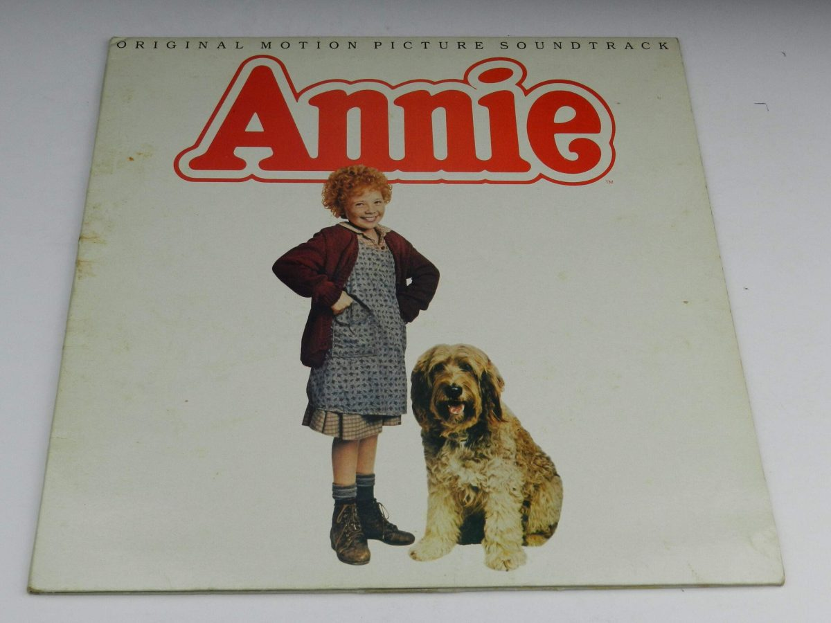 Various – Annie Original Motion Picture Soundtrack vinyl record sleeve scaled