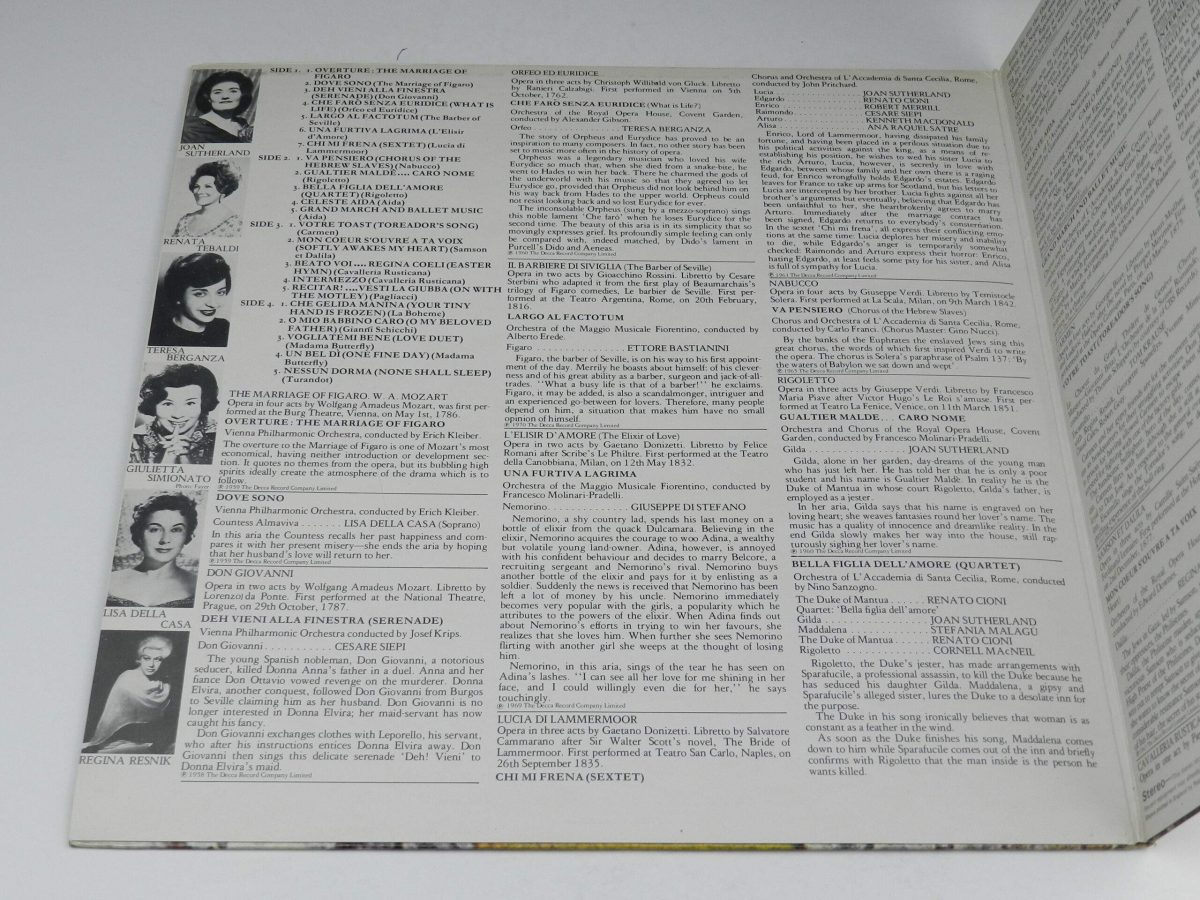 Various – Favourite Opera Famous Solos Duets And Choruses vinyl record sleeve gatefold 1 scaled