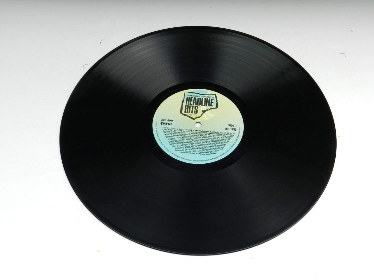 Various – Headline Hits vinyl record side A scaled