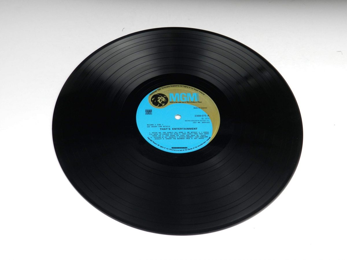 Various – Music From The Original Motion Picture Soundtrack That s Entertainment vinyl record 2 side A scaled
