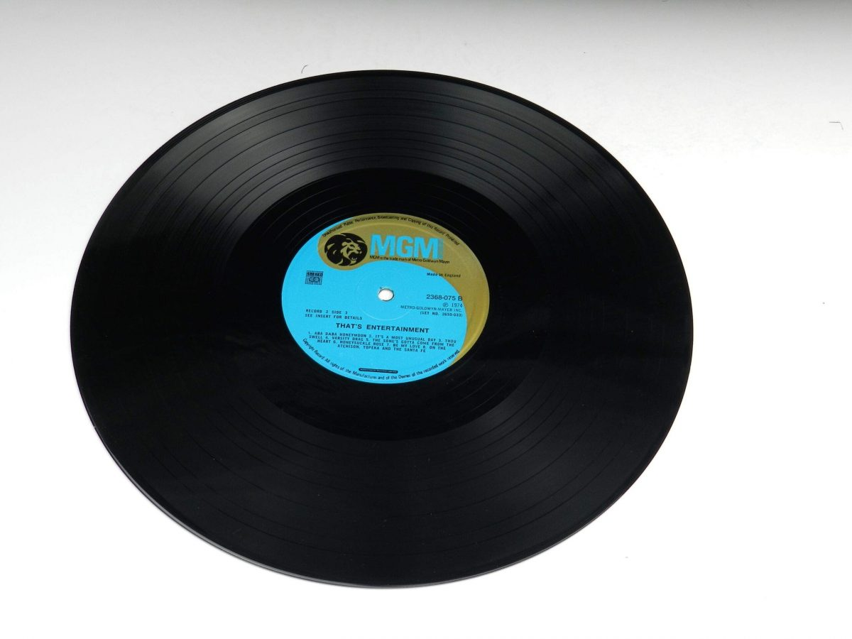 Various – Music From The Original Motion Picture Soundtrack That s Entertainment vinyl record 2 side B scaled