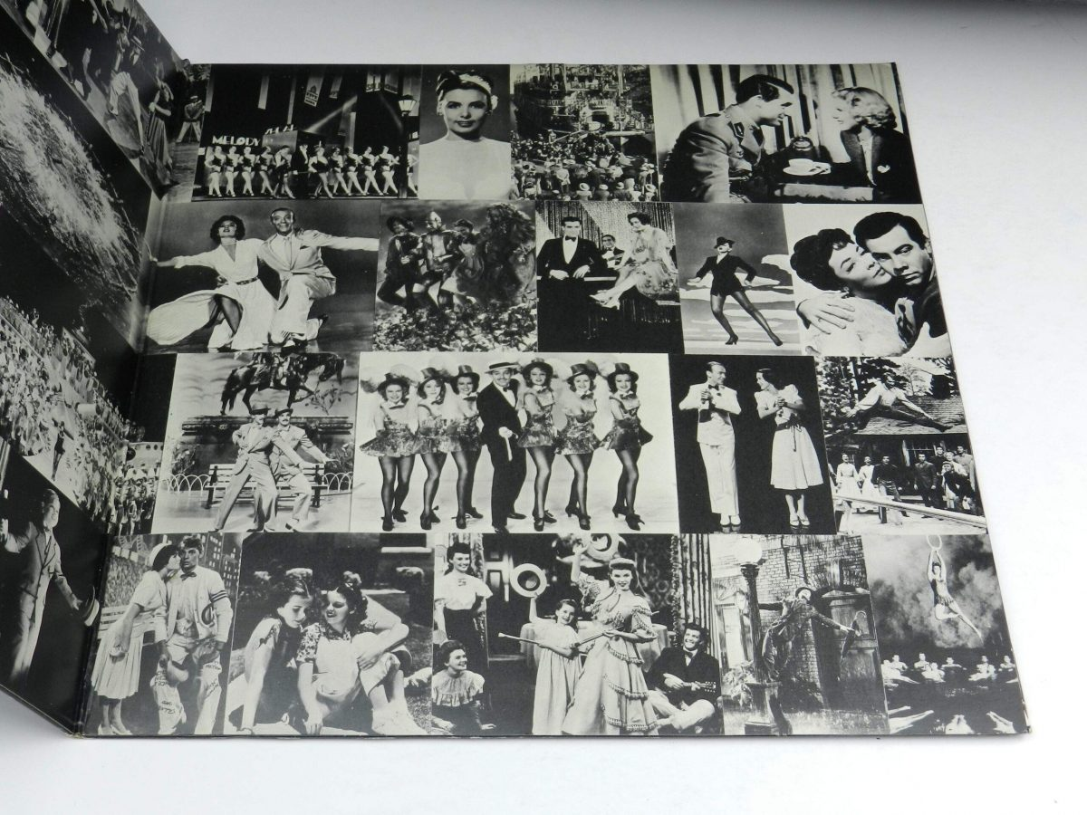 Various – Music From The Original Motion Picture Soundtrack That s Entertainment vinyl record sleeve gatefold 2 scaled