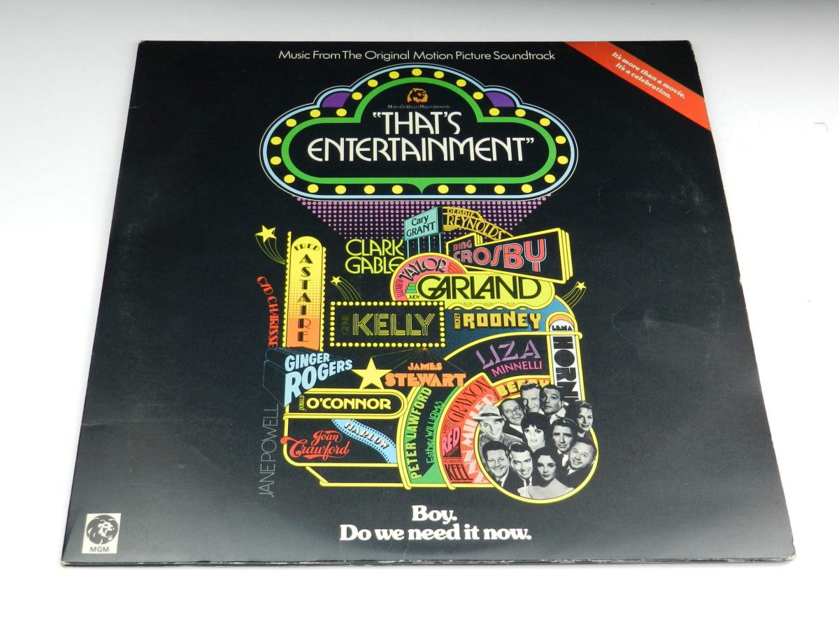 Various – Music From The Original Motion Picture Soundtrack That s Entertainment vinyl record sleeve scaled