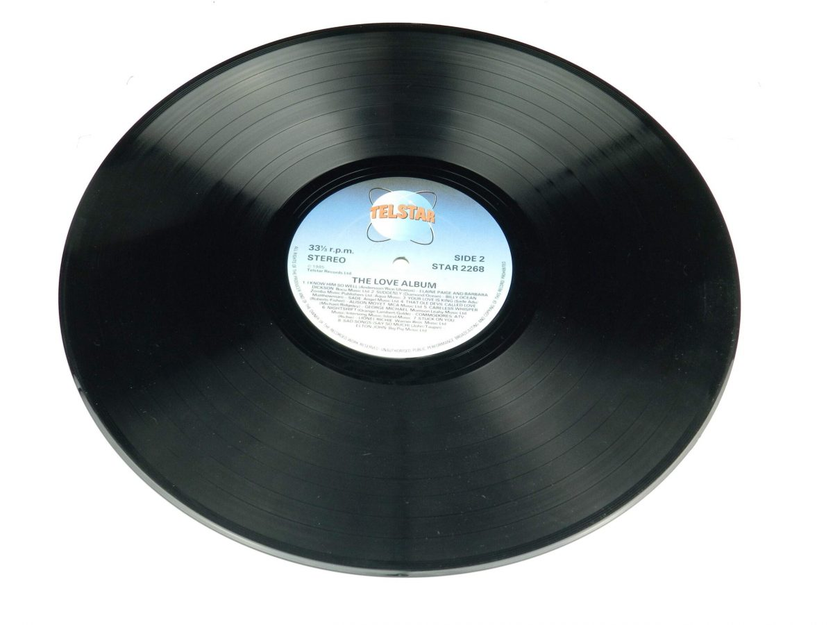 Various – The Love Album vinyl record side B scaled