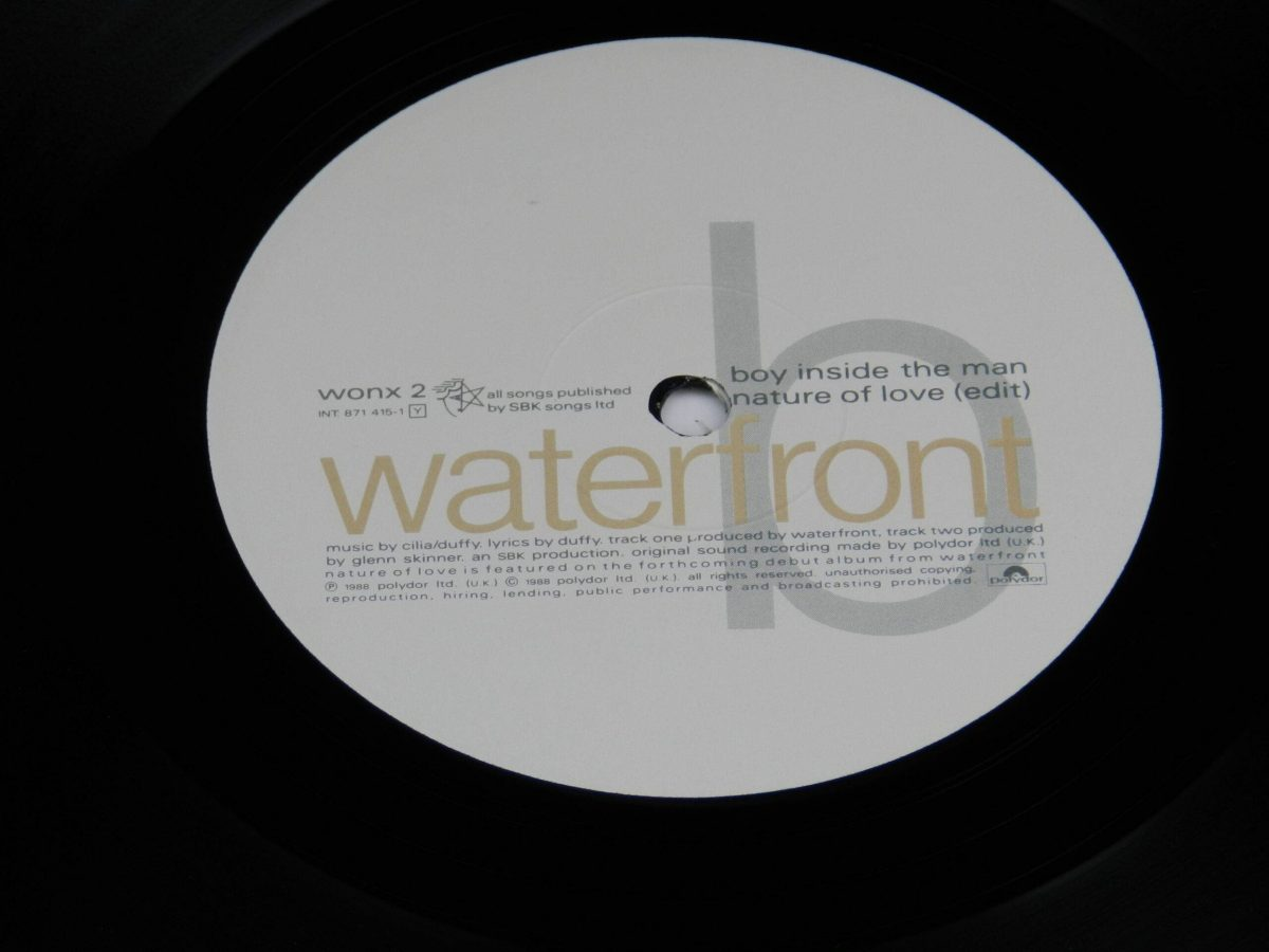 Waterfront – Nature Of Love vinyl record side A label scaled