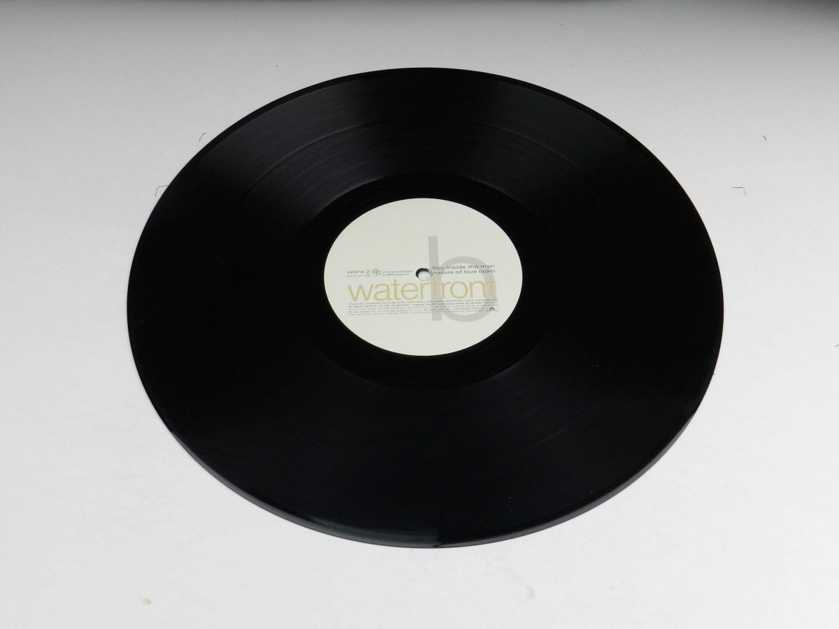 Waterfront – Nature Of Love vinyl record side A scaled