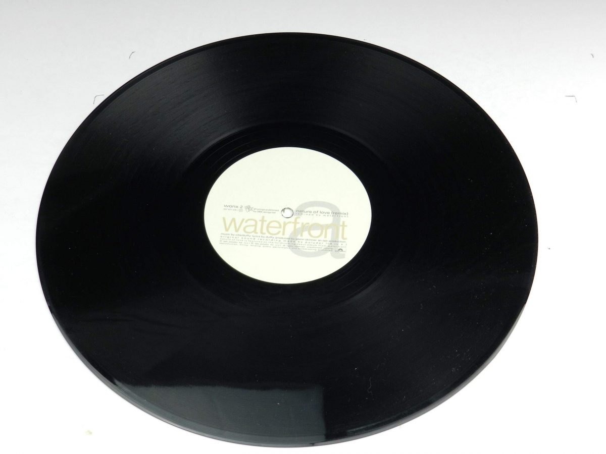Waterfront – Nature Of Love vinyl record side B scaled