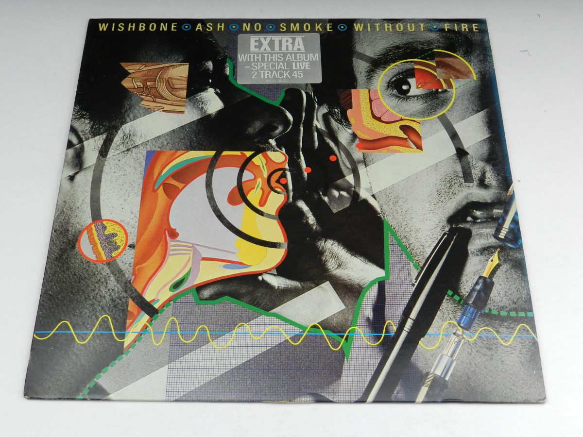 Wishbone Ash – No Smoke Without Fire vinyl record sleeve scaled