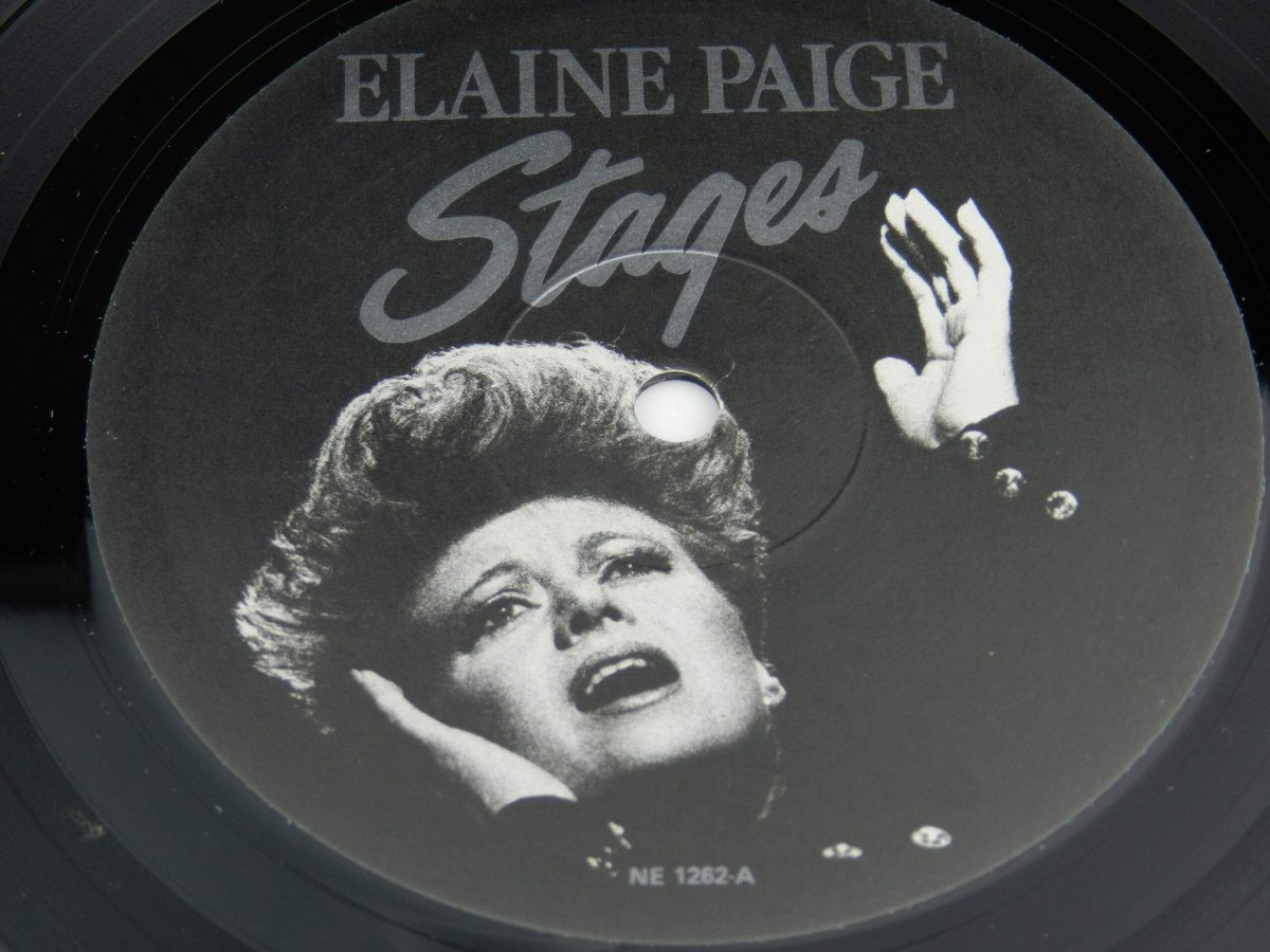 Elaine Paige – Stages vinyl record side B label scaled