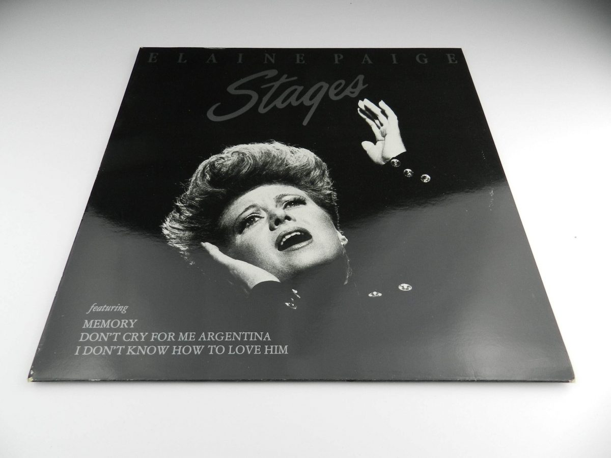 Elaine Paige – Stages vinyl record sleeve scaled