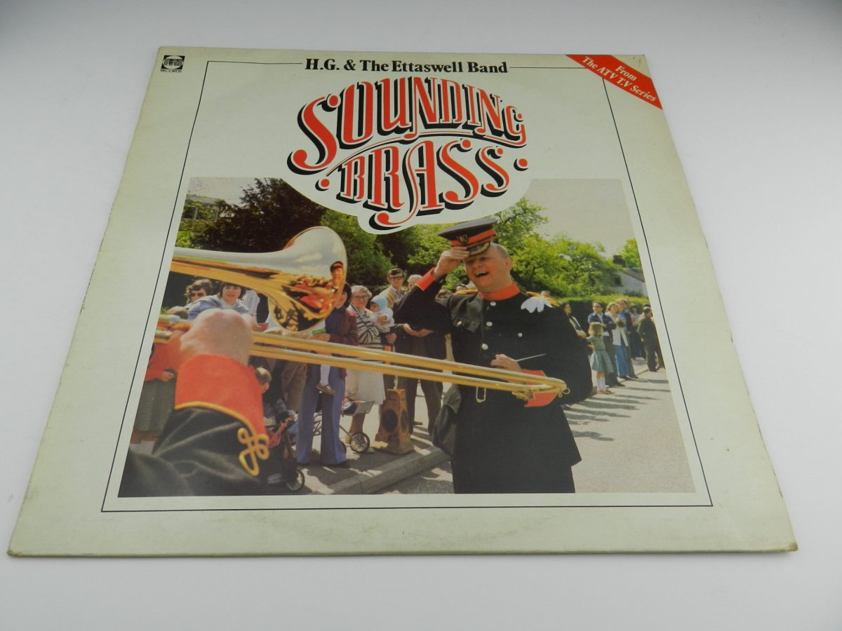 HG and The Ettaswell Band – Sounding Brass vinyl record sleeve scaled