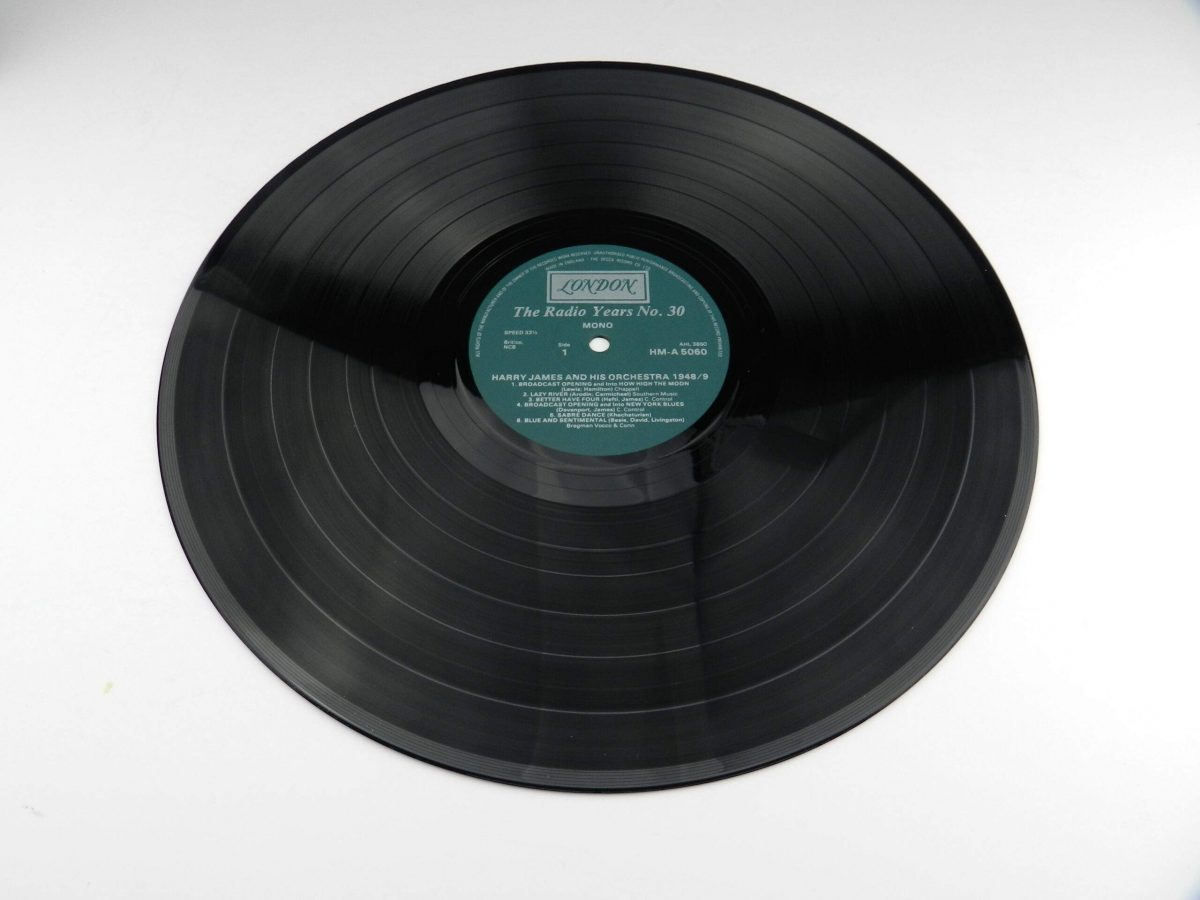 Harry James And His Orchestra – Harry James And His Orchestra 1948 49 vinyl record side A scaled