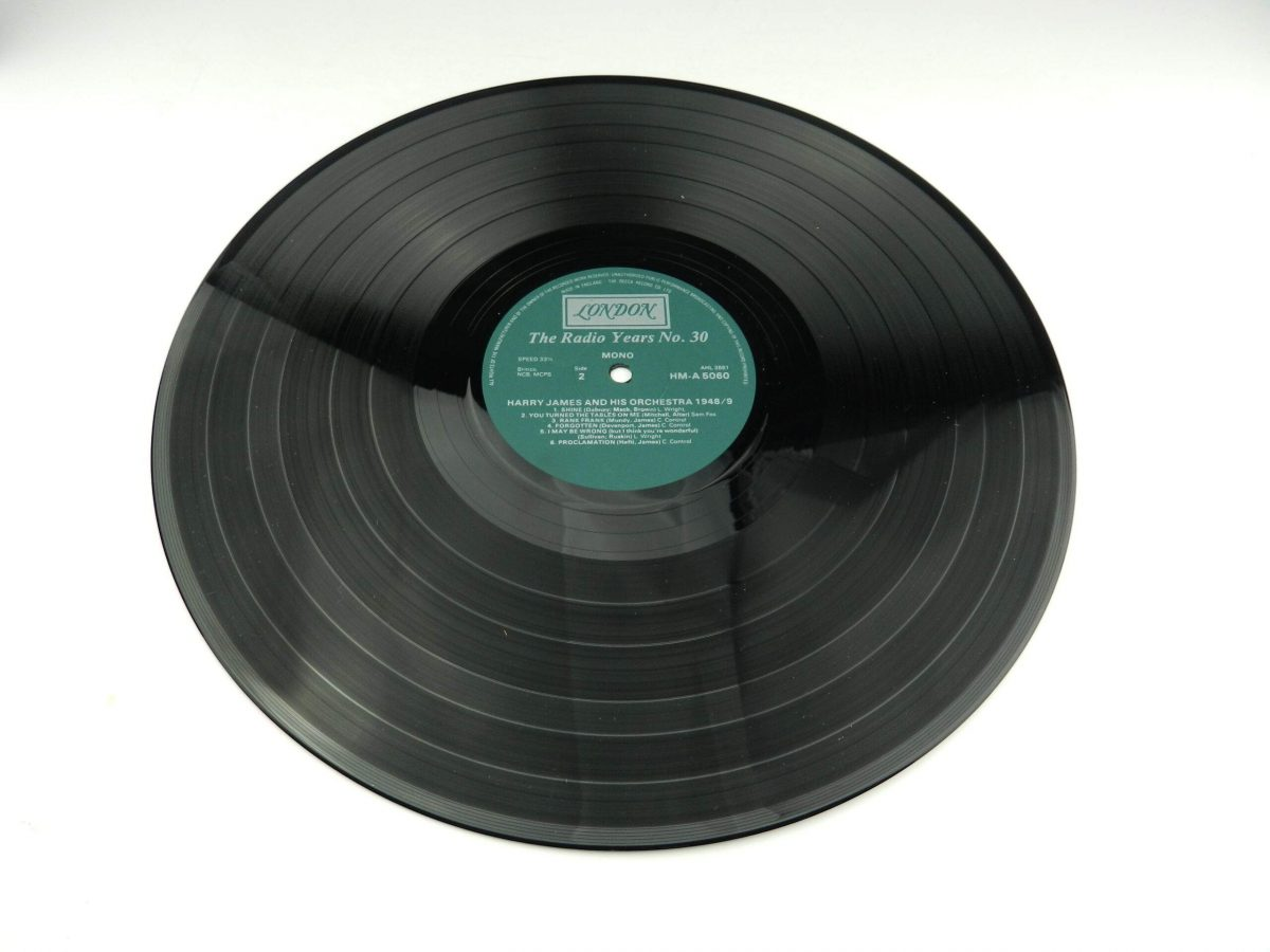 Harry James And His Orchestra – Harry James And His Orchestra 1948 49 vinyl record side B scaled