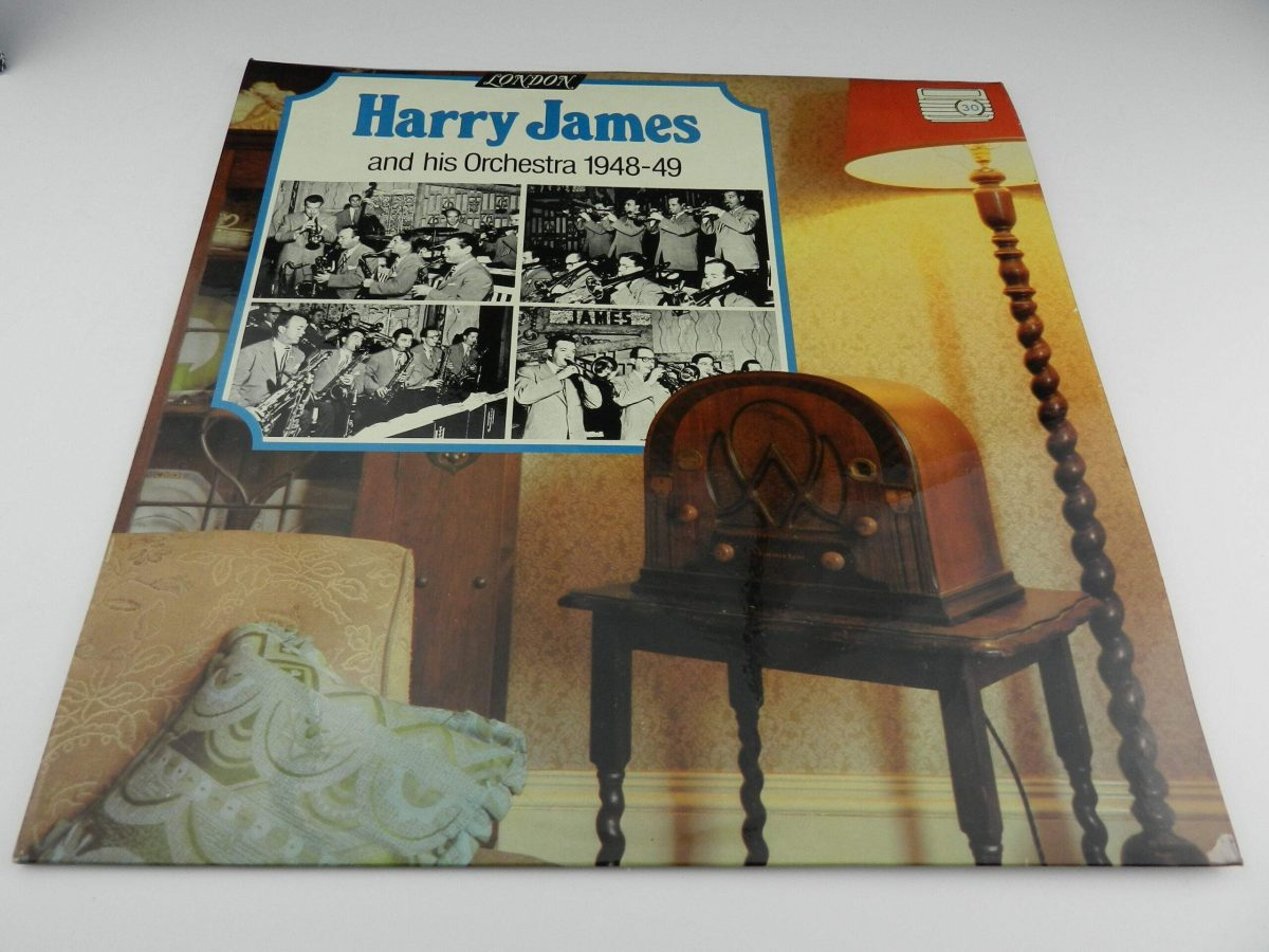 Harry James And His Orchestra – Harry James And His Orchestra 1948 49 vinyl record sleeve scaled