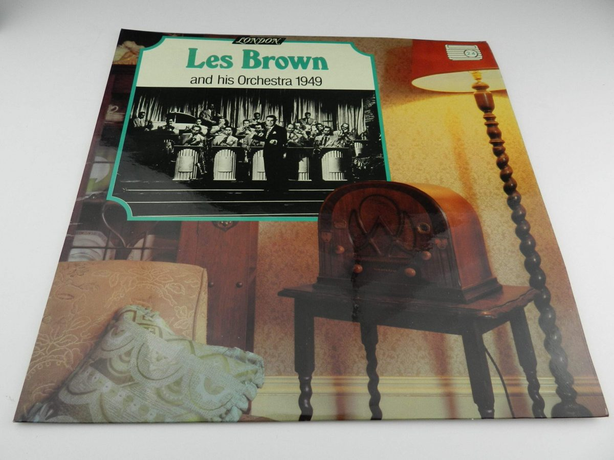 Les Brown And His Orchestra – 1949 vinyl record sleeve scaled