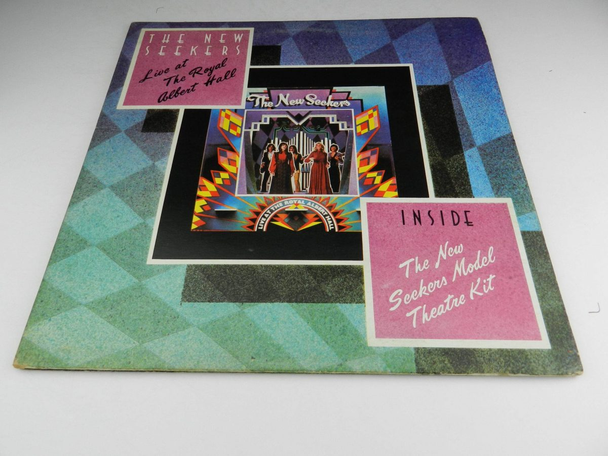 The New Seekers – Live At The Royal Albert Hall vinyl record sleeve scaled