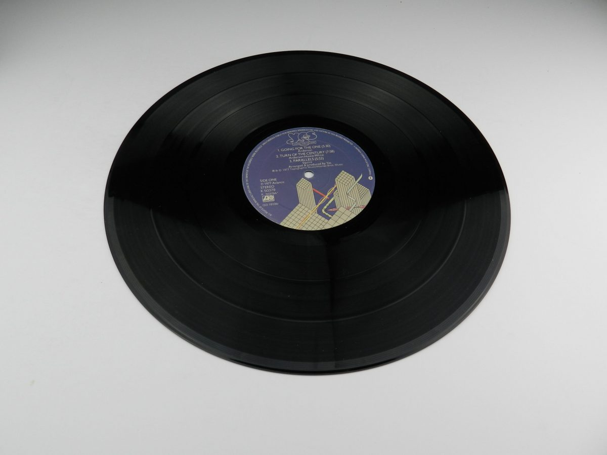 Yes – Going For The One vinyl record side A scaled