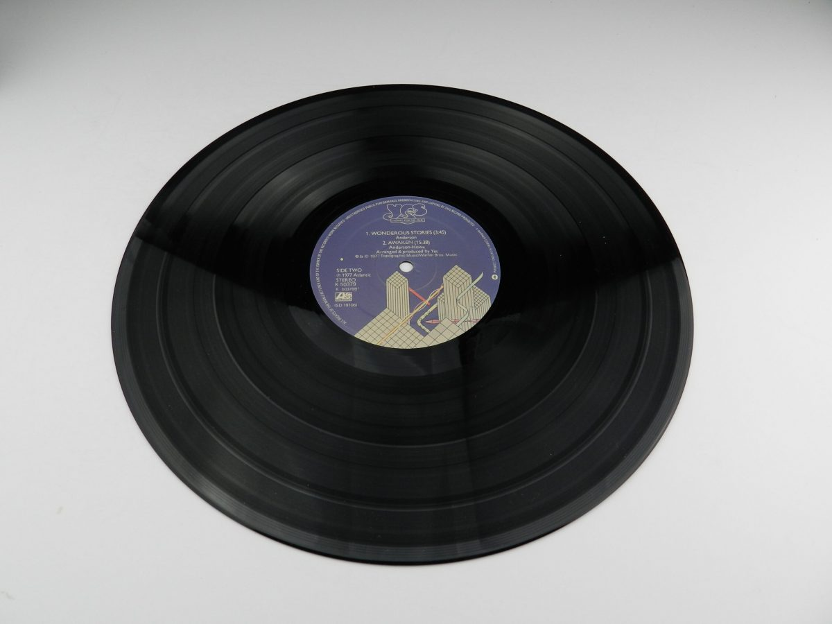 Yes – Going For The One vinyl record side B scaled