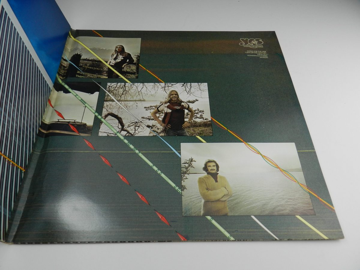 Yes – Going For The One vinyl record tri fold right scaled